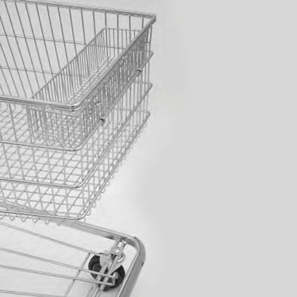 Accessori per carrelli - Cesto in filo per piccoli oggetti