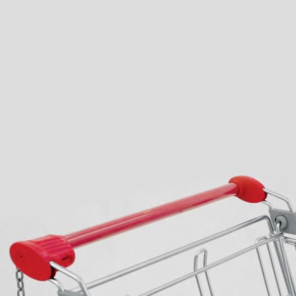 Accessori per carrelli - Maniglia tonda con portamonete Euroloc