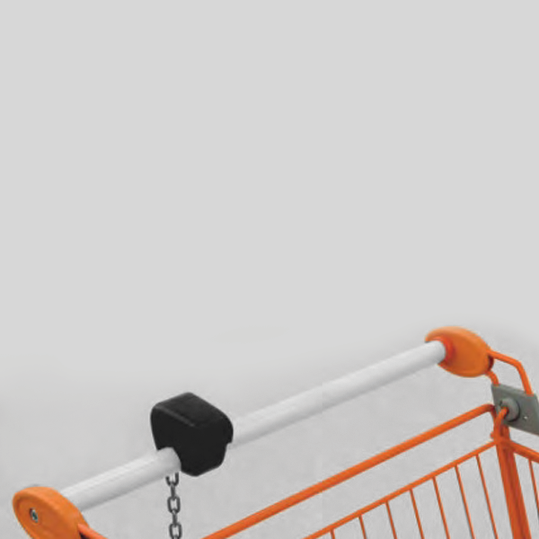 Accessori per carrelli - Maniglia tonda con portamonete Smartloc