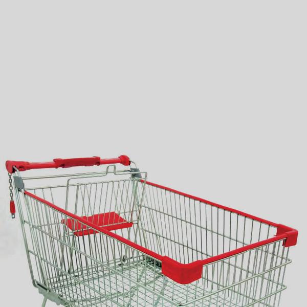 Accessori per carrelli - Protezione in plastica per il cesto del carrello