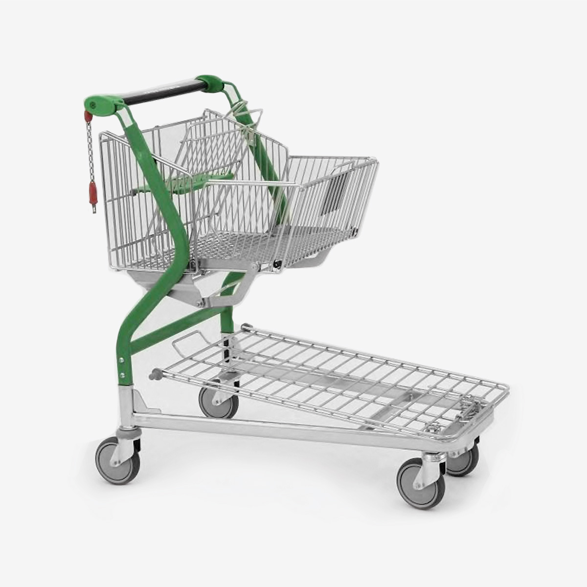 Carrello design per logistica magazzino VARIO DESIGN 90 con piattaforma