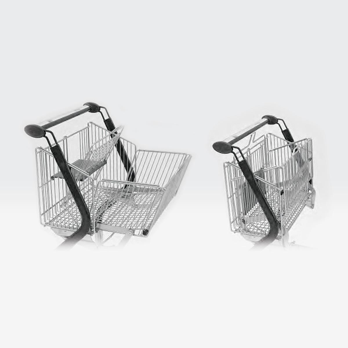 Carrello design per logistica magazzino Vario Design cesti - Filomarket
