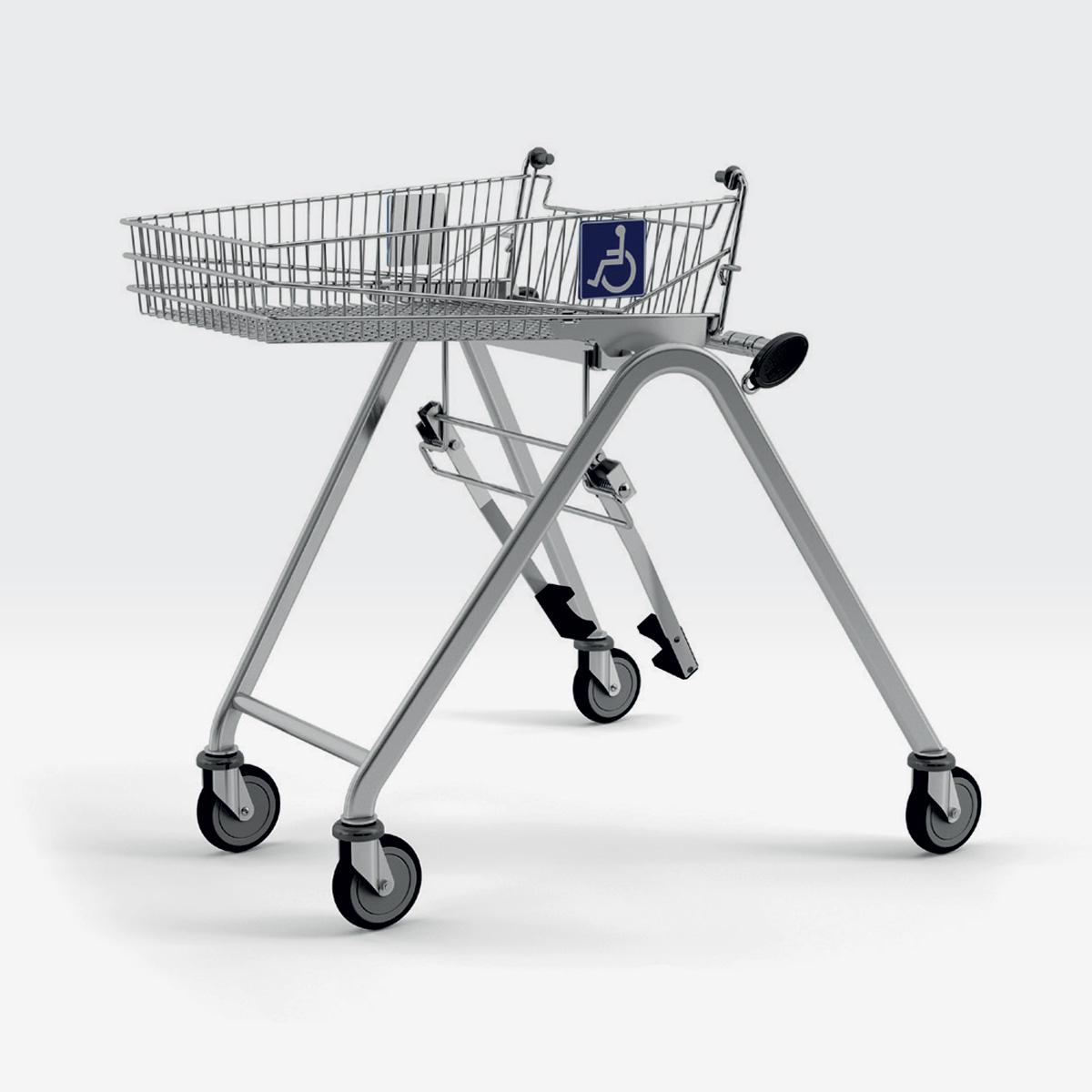 Carrello per disabili WTN-1 01