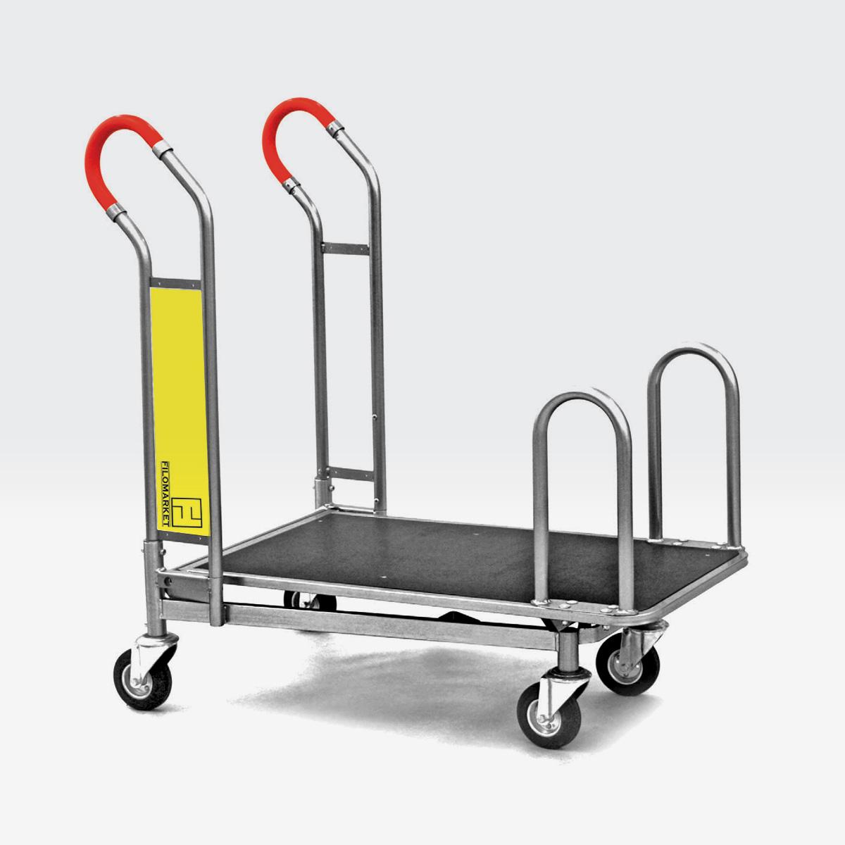 Carrello per magazzino con ruote CARRY 100ZR