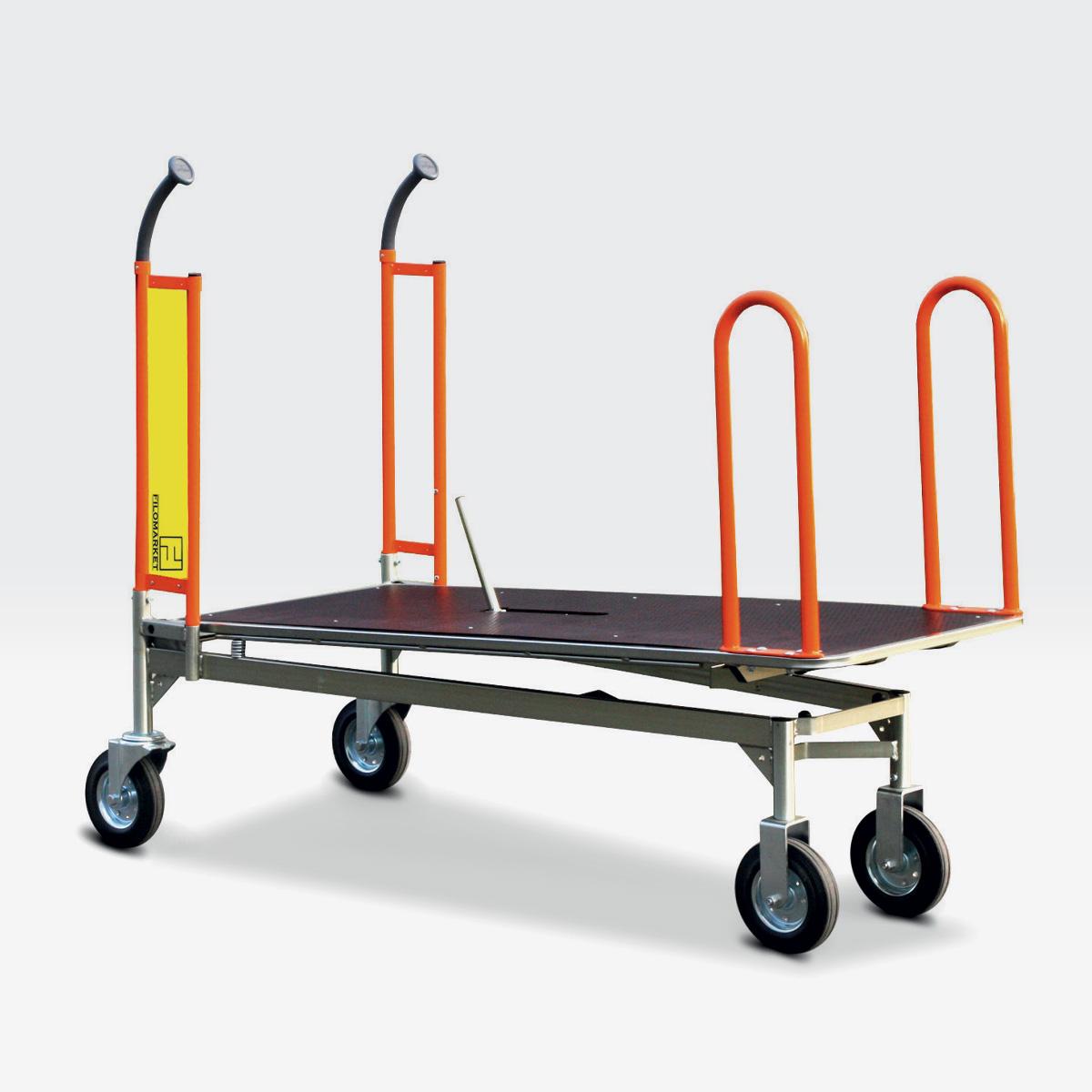 Carrello per magazzino con ruote CARRY 160