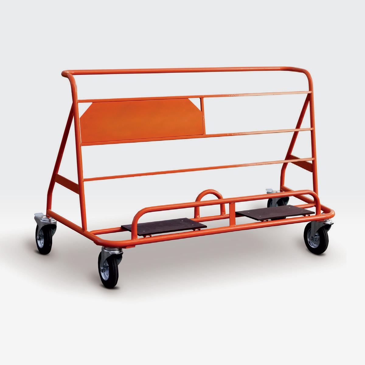 Carrello per panneli CARRY WP4 arancione