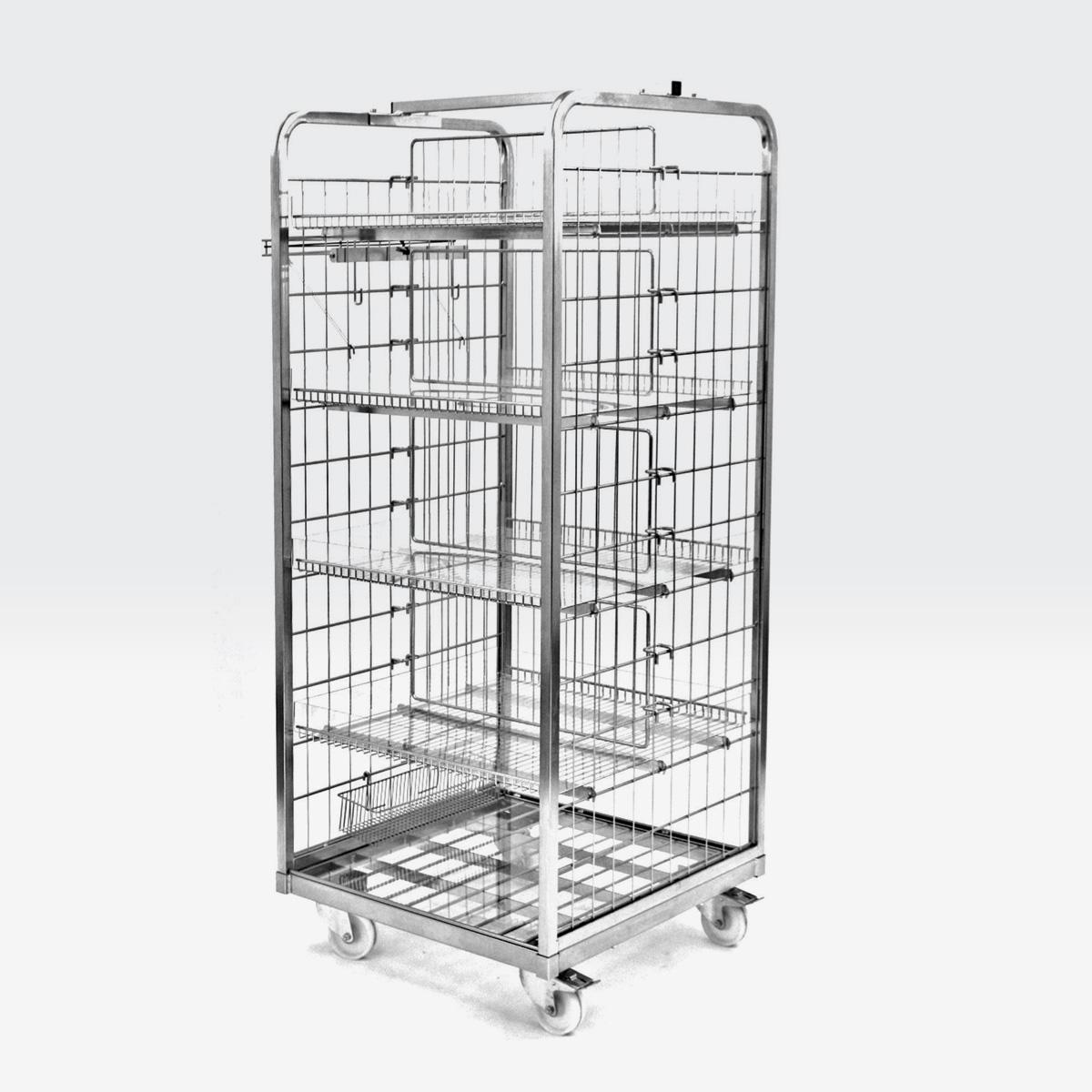 Carrello roll container 700x700 h.1650
