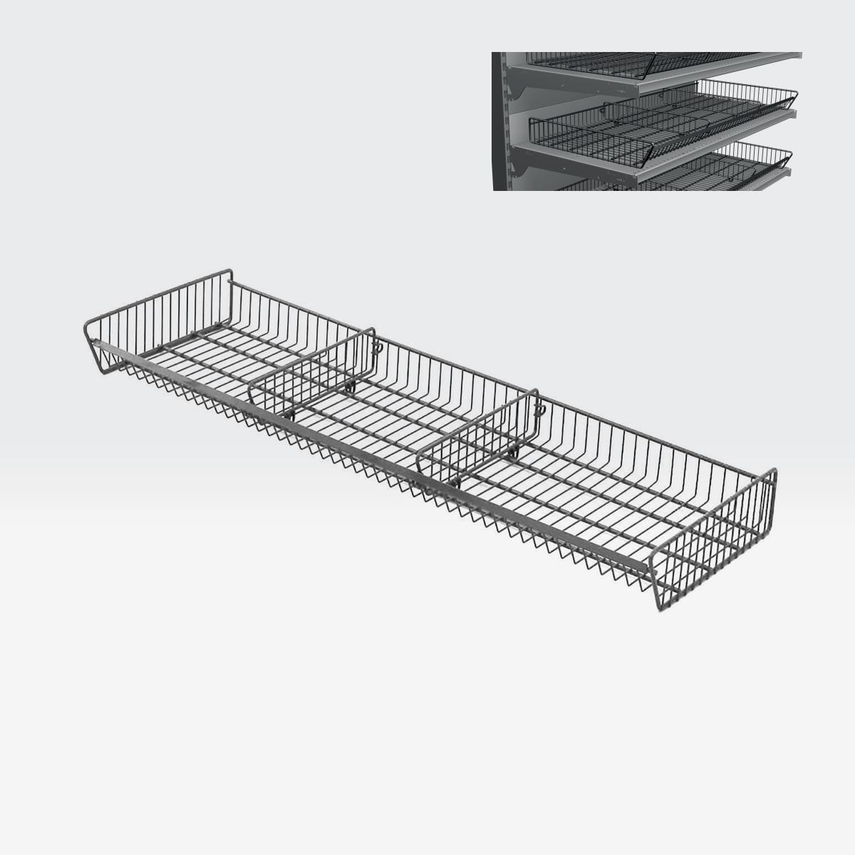 cesto metallico sovrapponibile PP