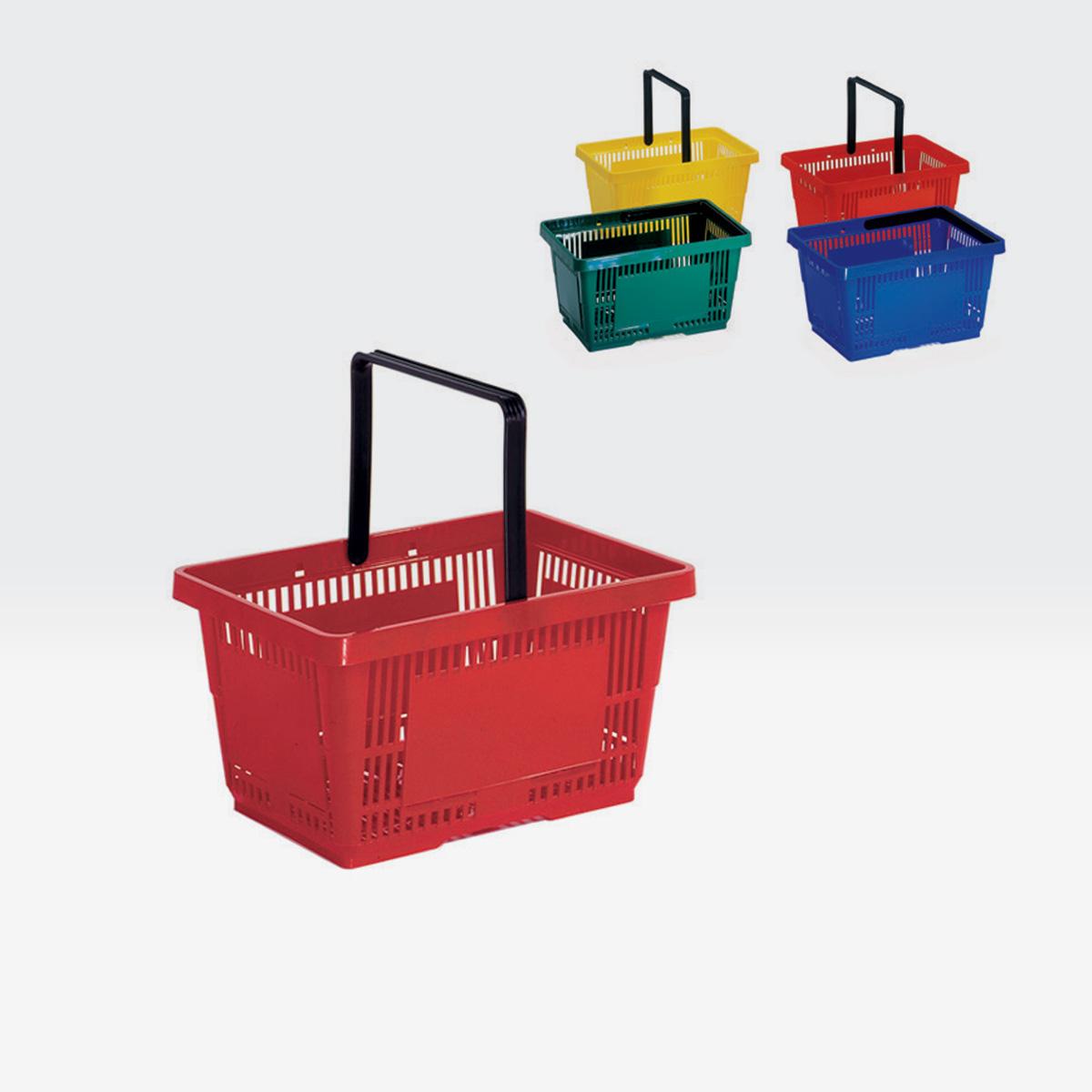 Cesto spesa plastica 28L
