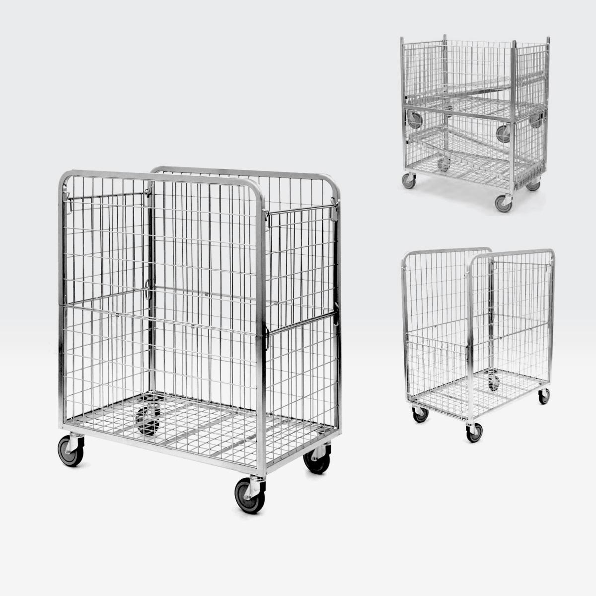 Roll carrello per cartoni 600x1000 h.1200