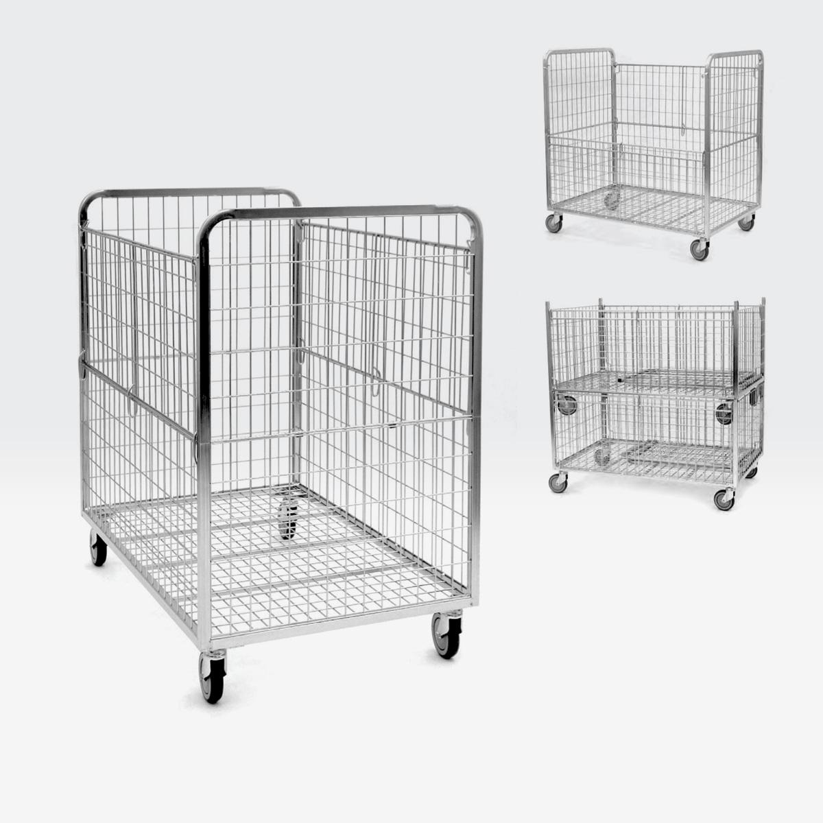 Roll carrello per cartoni 800x1000 h.1200